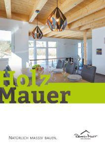Katalog natürlich massiv bauen mit der Holzmauer von Rems-Murr-Holzhaus