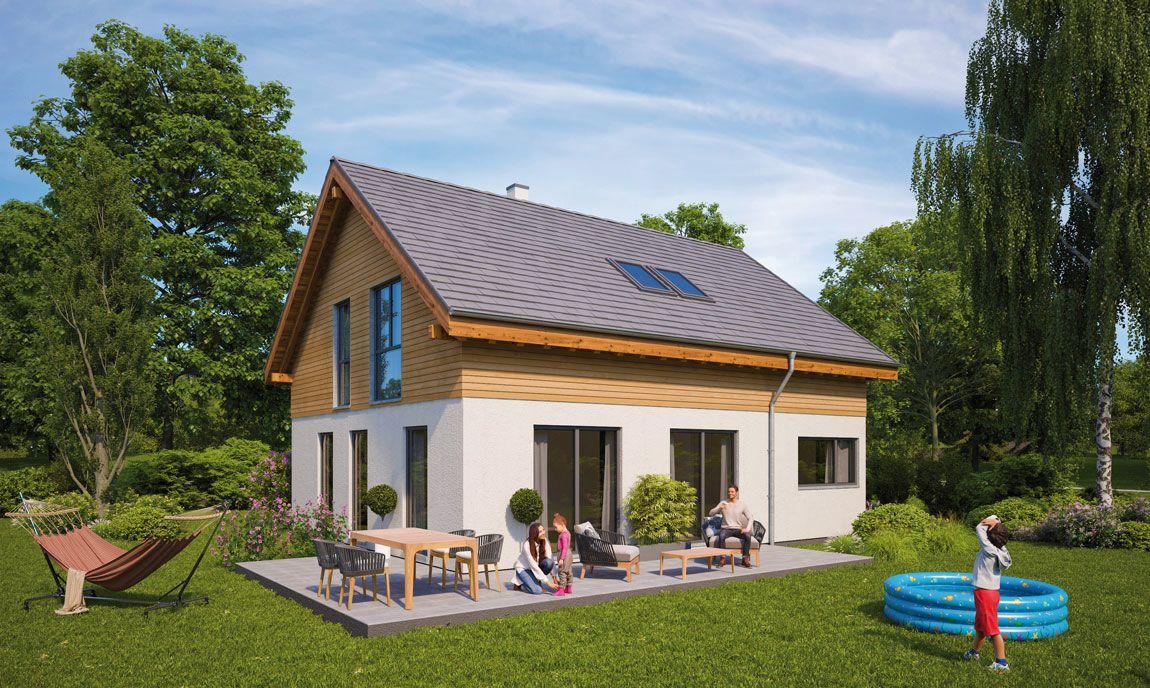 Einfamilienhaus gebaut von Rems-Murr-Holzhaus