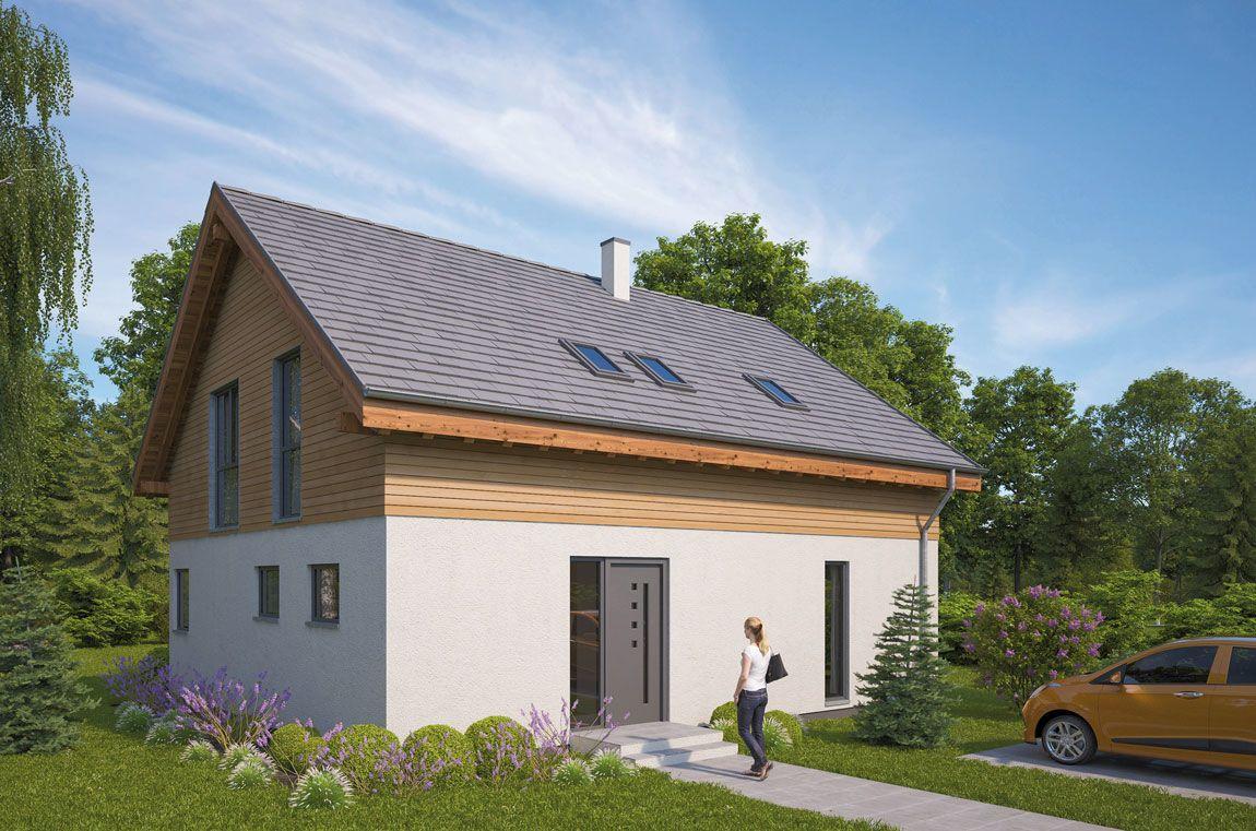 Einfamilienhaus gebaut mit der Holzmauer