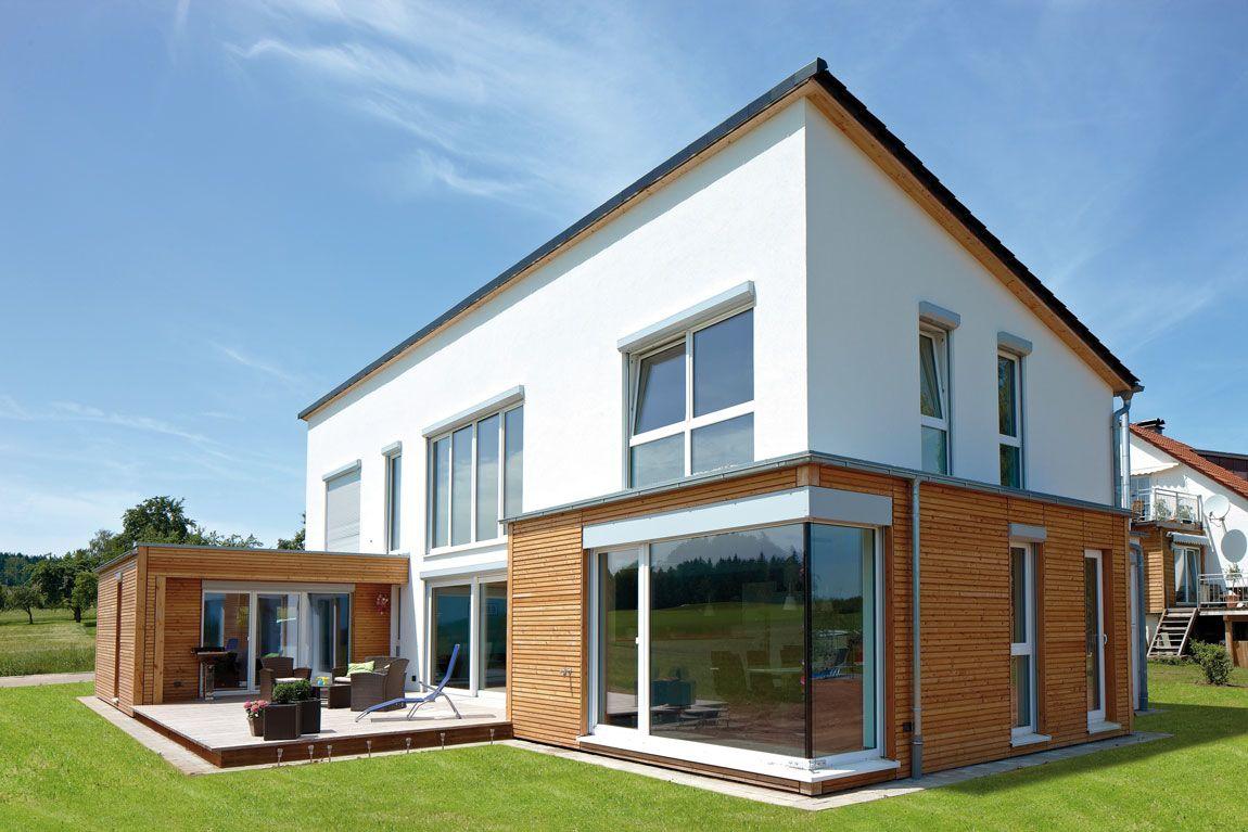 massivhaus bauen mit der holzmauer viel freiraum bei der. Black Bedroom Furniture Sets. Home Design Ideas
